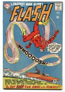 FLASH #154 1965-FASTEST MAN ALIVE-DC COMICS 1965 OLDS! VF