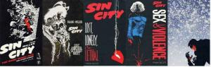 SIN CITY 1-SHOT SET 5 DIFF (1994-98 DH)  Frank Miller