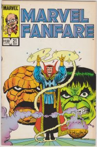Marvel Fanfare #21