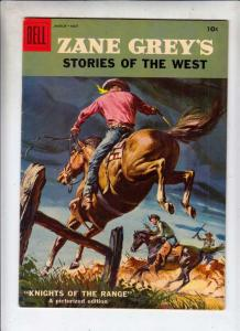Zane Grey's Stories of the West #37 (Mar-58) VF+ High-Grade