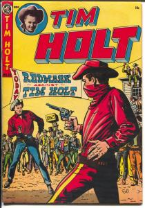 Tim Holt #36 1953-ME-Red Mask vs Tim Holt-Ghost Rider-drug story-VF