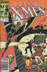 Classic X-Men #11 (Mark Jewelers) FN; Marvel | save on shipping - details inside