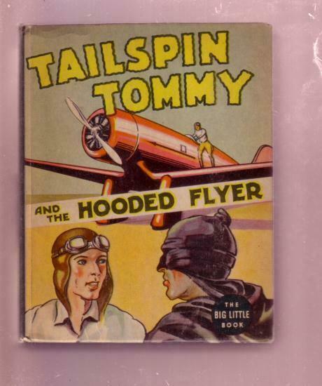 TAILSPIN TOMMY HOODED FLYER HAL FORREST  BLB#1423--1937 VF+