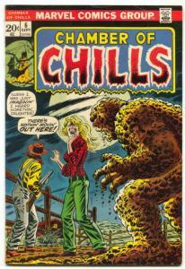 Chamber Of Chills #6 1973- Marvel Horror-Roy Thomas F/VF
