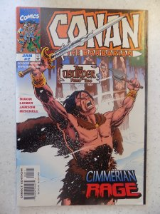 CONAN THE BARBARIAN THE USURPER # 2