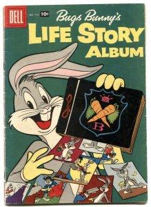 Bugs Bunny's Life Story Album -Four Color Comics #838 1957 VG