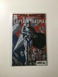 Star Wars Captain Phasma 1 Variant Near Mint Marvel HPA