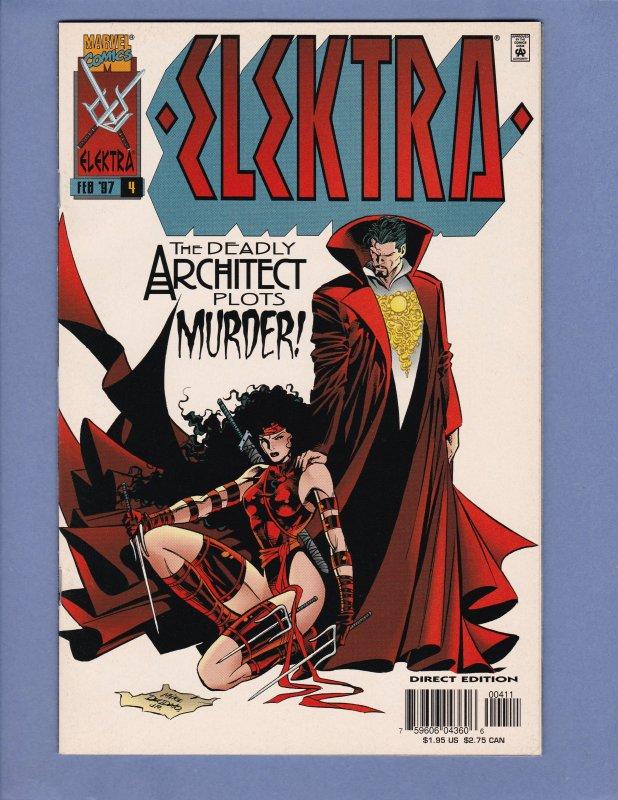 Elektra Lot #2 #3 #4 NM-/NM Marvel Dr Strange 1996 Series