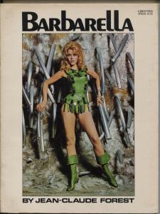 Barbarella #1 1968-1st issue-Jean-Claude Forest-Jane Fonda-FN