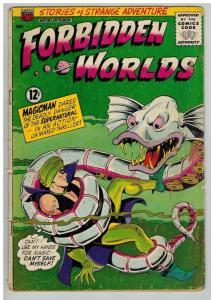 FORBIDDEN WORLDS 131 FR-G October 1965