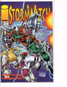 Image Comics (Vol. 1) Stormwatch #3 Jim Lee
