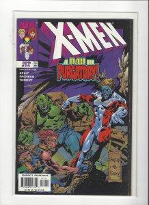 X-men #74 A Day in Purgatory  NM Marvel Comics