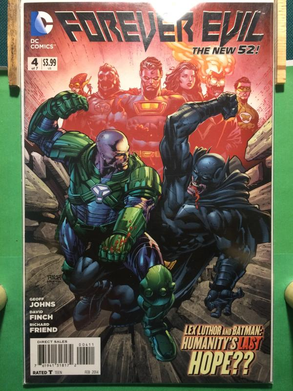 Forever Evil #4 of 7 The New 52