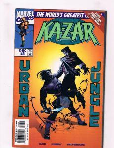 Ka-Zar #8 VF Marvel Comics Comic Book Dec 1997 DE36