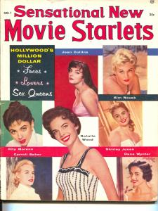 Sensational New Movie Starlets-No.1-Carroll Baker-Rita Moreno-Kim Novak-1956