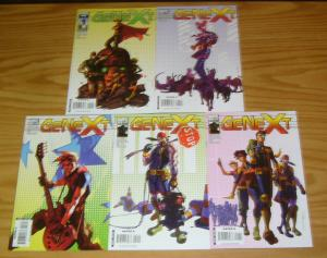 Genext #1-5 VF/NM complete series - chris claremont - next generation of x-men