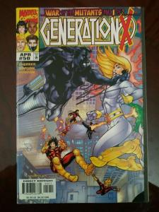 Generation X #50 War of the Mutants Part 1 Signed by Terry Dodson (1999)