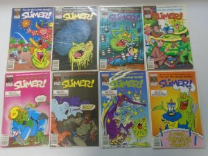 Slimer from Ghostbusters  lot 8 different issues from #6-17 6.0 FN (1989-90)