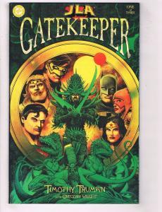 JLA Gatekeeper Complete DC Comics Ltd Ser # 1 2 3 NM 1st Print Batman Flash J79