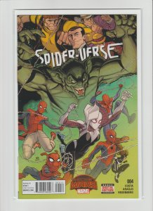 Spider-Verse #4 NM- 9.2 Secret Wars! Spider-Ham, Spider-Gwen