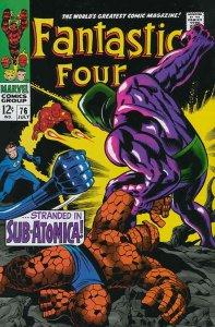 Fantastic Four (Vol. 1) #76 VG; Marvel | low grade comic - save on shipping - de