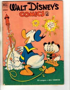 Walt Disney's Comics & Stories # 131 FN Dell Golden Age Comic Book Donald JL18