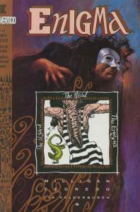 ENIGMA (1993 VERTIGO) 1-7 Milligan classic ALMOST comp