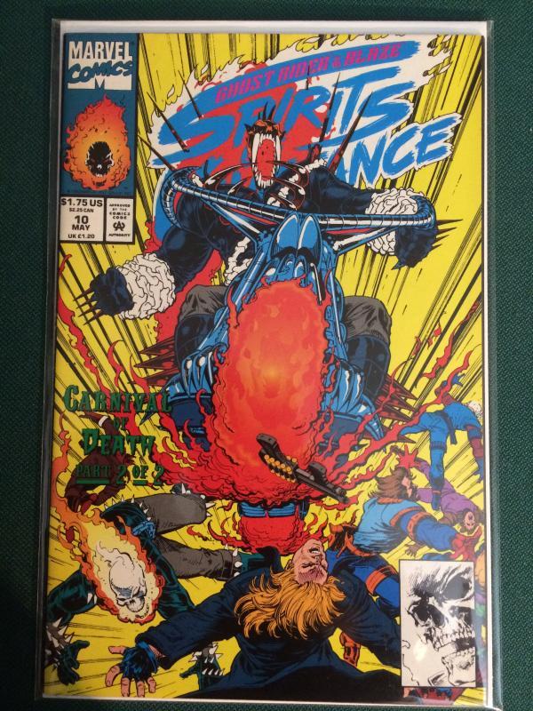 Ghost Rider & Blaze Spirits of Vengeance #10 featuring Vengeance