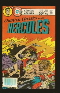 Charlton Classics Hercules #5 December (1980)