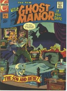 Ghost Manor (1971 series) #13, Fine (Stock photo)