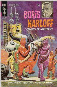 Boris Karloff Tales of Mystery #36 (Aug-71) FN/VF Mid-High-Grade Boris Karloff