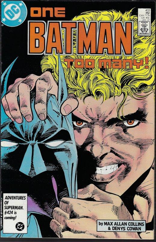 Batman #403 (DC, 1987) NM-