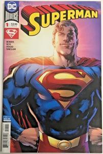 SUPERMAN#1 VF/NM 2018 FIRST PRINT DC COMICS