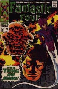 Fantastic Four (1961 series) #78, VG+ (Stock photo)