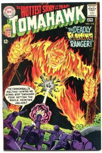 Tomahawk Comics #115 1968- DC Western Silver Age- VF