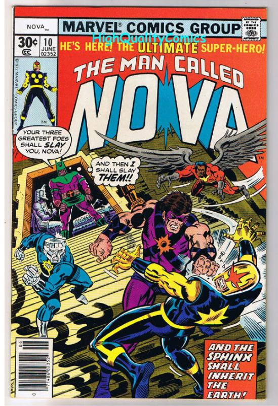 NOVA #10, VF/NM, Sphinx, Buscema, Marv Wolfman, 1976, more in store