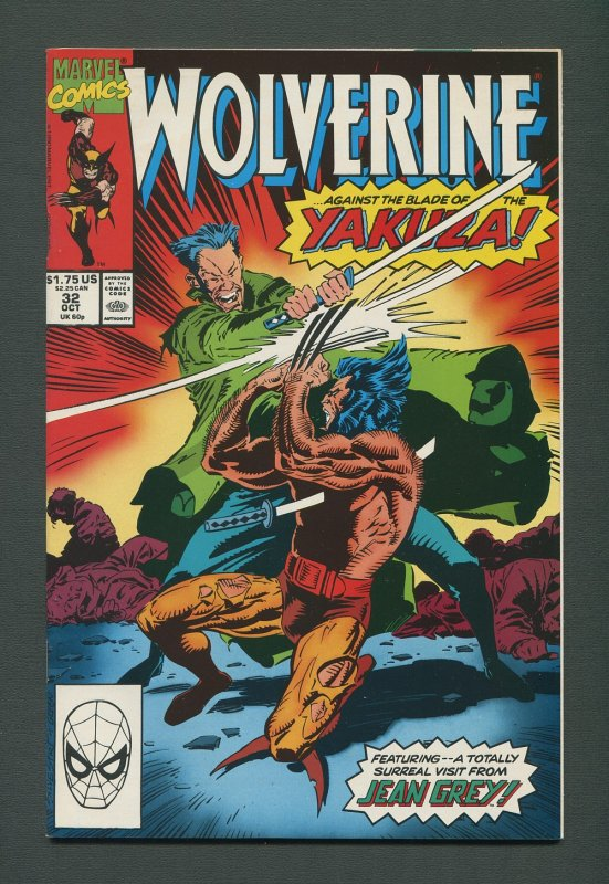 Wolverine #32 / 9.0 VFN/NM  /  (1988 1st Series)