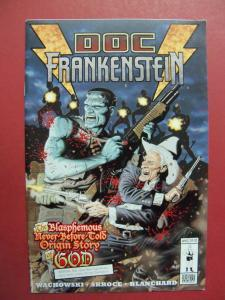 DOC FRANKENSTEIN #6  (VF/NM 9.0 OR BETTER) BURLYMAN ENTERTAINMENT