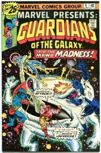 MARVEL PRESENTS #4, VF/NM, Guardians of the Galaxy, 1975, more Bronze in store
