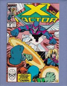 X-Factor #44 VF/NM Front/Back Cover Scans Marvel 1989