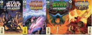 STAR WARS JEDI ACADEMY LEVIATHAN (1998 DH) 1-4 COMICS BOOK