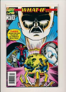 Marvel WHAT IF 3 Bone Chilling Tales of Alternate Realities #53 '93 VF (PF552)