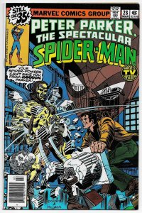 Spectacular Spider-Man #28 Frank Miller Art (Marvel, 1979) VG/FN