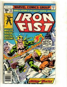 Iron Fist # 14 NM- Marvel Comic Book 1st Sabretooth X-Men Wolverine Storm GK1