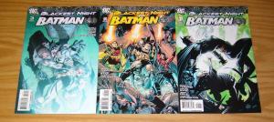 Blackest Night: Batman #1-3 VF/NM complete series - dc comics - tomasi/syaf set