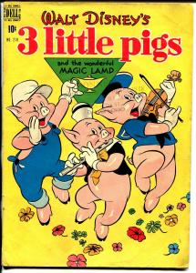3 Little Pigs-Four Color #218 1949-Dell-based on the Walt Disney cartoon-VG