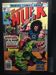 The Incredible Hulk #211 (1977)
