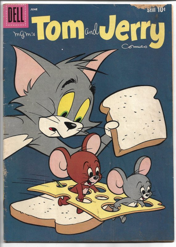 Tom and Jerry 191 - Silver Age - June 1960 (GD+)