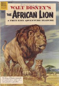 Four Color #665 Walt Disney's African Lion