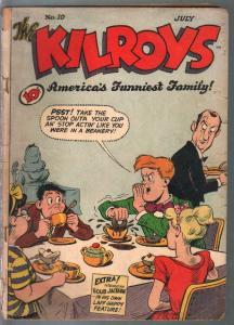 Kilroys #10 1948-ACG-Moronica-Milt Gross-wacky art & story-G